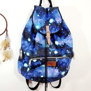 Pink Victoria's Secret Rare Galaxy Backpack